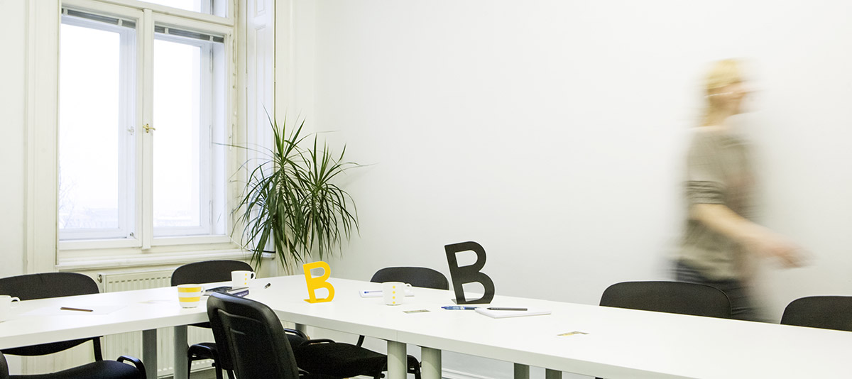 Coworking s Belisha Beacon